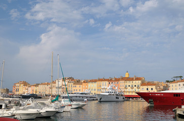 Saint Tropez marina, France