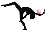 rhythmic gymnastic poster