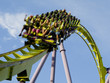 Roller Coaster Extreme Close up - 9047895