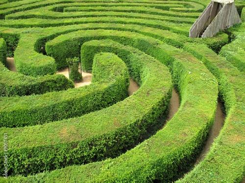 Leinwanddruck Bild Labyrinth