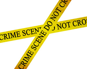 crime scene do not cross: police line