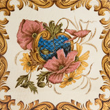 An antique tile in the Aesthetic taste c1890 poster