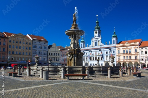 Square of Ceske Budejovice - 9063833