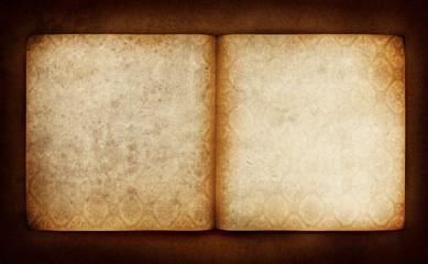 vintage empty book