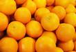 canvas print picture - Fresh Oranges