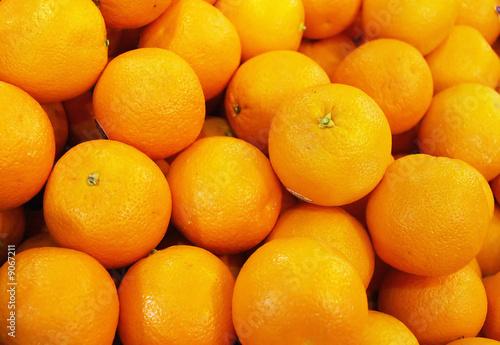 canvas print picture Fresh Oranges