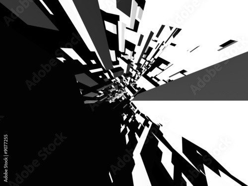 canvas print picture Abstract architectural background