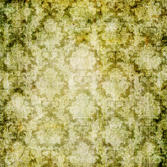 vintage green wallpaper