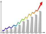 statistics graphics poster
