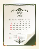 july 2009 poster