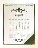 august 2009 poster