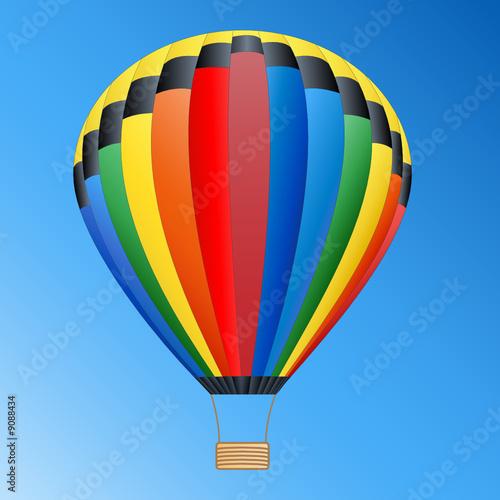 hei luftballon in himmel von dark vectorangel lizenzfreier vektor 9088434 auf. Black Bedroom Furniture Sets. Home Design Ideas
