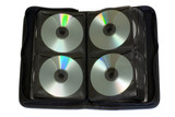 Storage bag for CD, DVD isolated poster