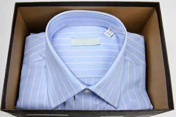 Designer shirt in gift box