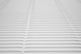 White Corrugated Cardboard Detail Macro poster