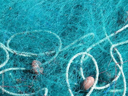 canvas print picture Filet de pêche