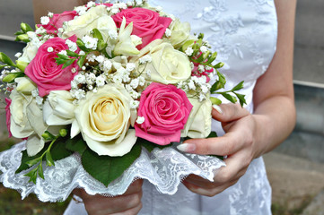 Bouquet of the bride