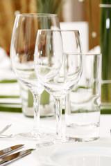 tafel, gedeck, restaurant