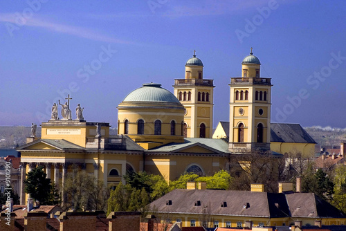 Basilica in Eger, Hungary, Europe - 9101290