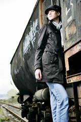 fashion shooting at locomotive