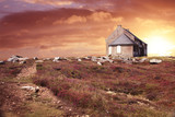 tramonto bretone poster