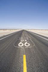 Remote desert highway