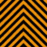 A seamless hazard stripes texture poster