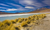 natural landscape, nice view of bolivia mountain poster