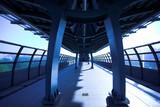 Fototapeta Metro - Ruch - Wnętrze