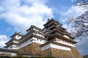 Himeji-jo castle near Osaka Japan