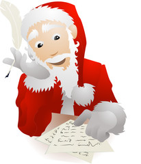 Santa Claus Christmas List Replying to Childrens Letters