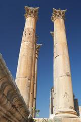 Jarash the roman old city in Jordan