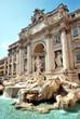 Leinwandbild Motiv Trevi Fountain