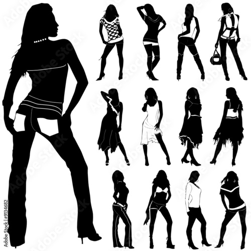 fashion women vector