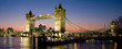 canvas print picture - Tower Bridge Panorama