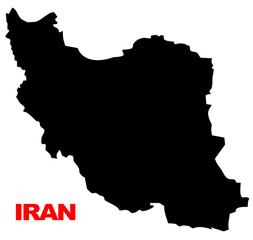 iran map high resolution