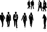 businesspeople poster