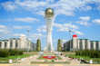 Bayterek Tower in Astana. symbol of Kazakhstan - 9140494