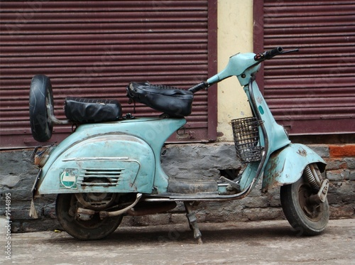 Scooter - Agra, India