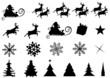 Christmas silouettes