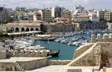 Greece Crete metropolis Heraclion panorama poster