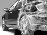 Fototapety high-tech car