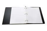 Notebook, Ring Binder, with white background poster