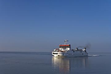 Ferry approaching