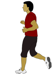 course à pieds