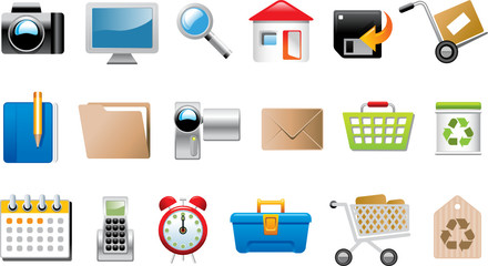 Collection of Symbols and icons