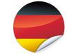 Sticker allemand (détouré)