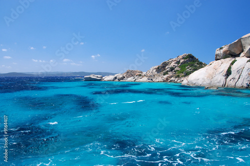 Isola di budelli le piscine naturali di michele campini foto stock royalty free 9164407 su - Isola di saona piscine naturali ...