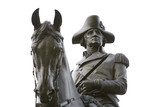 BOSTON:  An equastrian statue of General George Washington