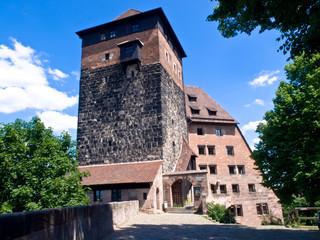Nuremberg, Kaiserberg. Europe, Germany.